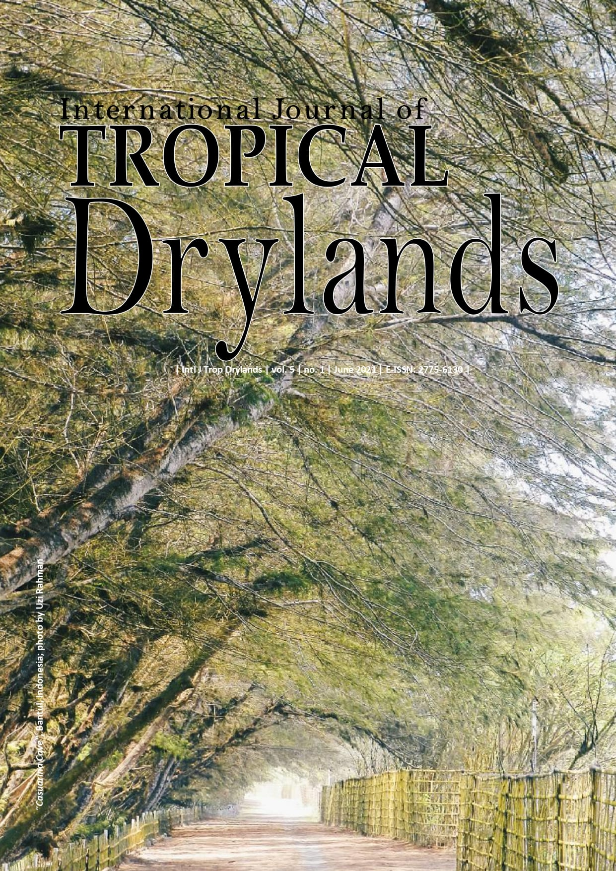 International Journal of Tropical Drylands