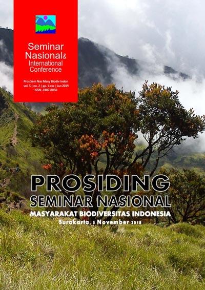 Prosiding Seminar Nasional Masyarakat Biodiversitas Indonesia