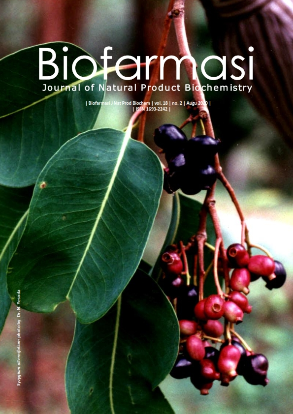 Biofarmasi Journal of Natural Product Biochemistry